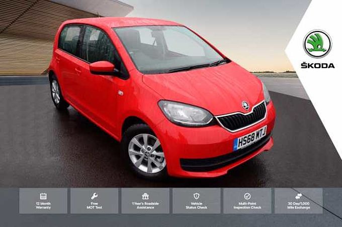ŠKODA Citigo 1.0 MPI (60PS) SE Green Tech Hatchback 5-Dr