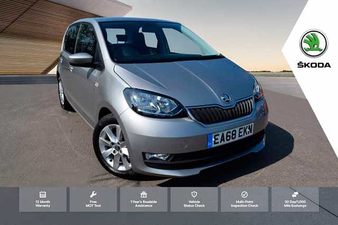 ŠKODA Citigo 1.0 MPI (60PS) SE L GreenTech Hatchback 5Dr