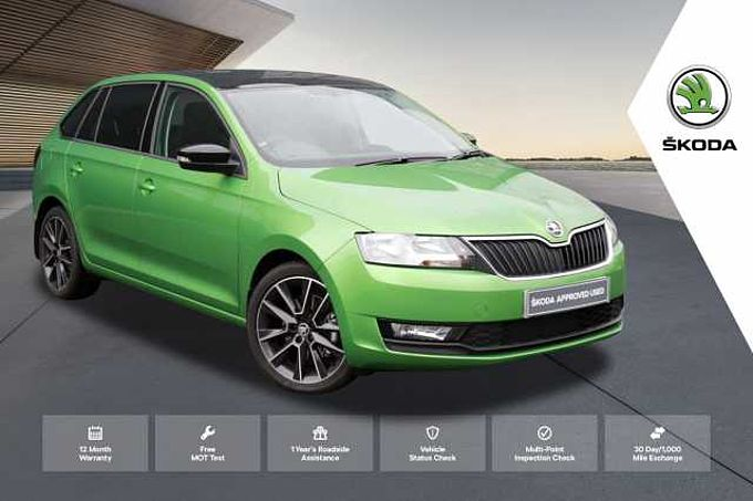 ŠKODA Rapid 1.0 TSI (110PS) SE Sport Spaceback 5-Dr