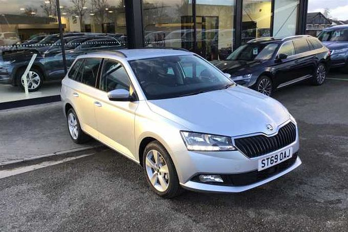 SKODA Fabia 1.0 TSI SE L (95PS) S/S 5-Dr Estate