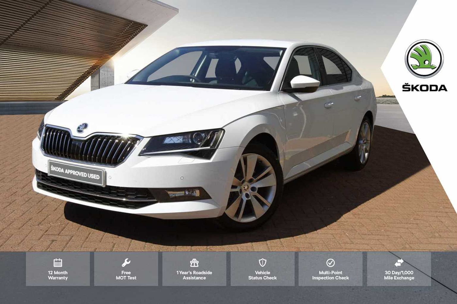 SKODA Superb 1.5 TSI 150ps SE L Executive ACT DSG Hatch