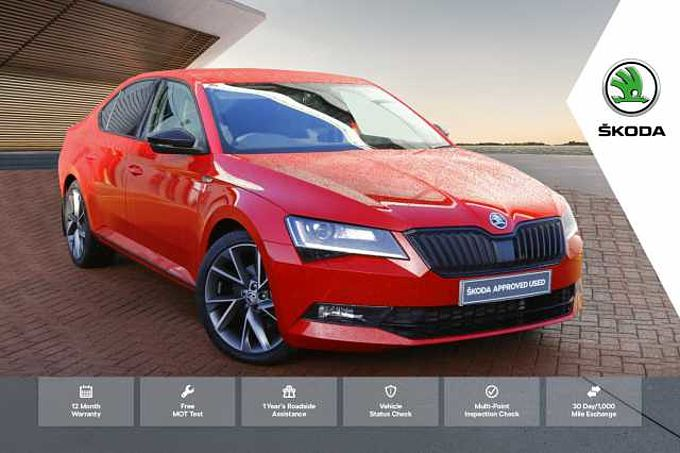 SKODA Superb Diesel Hatchback 2.0 TDI CR 190 Sport Line 4X4 5dr DSG [7 Speed]