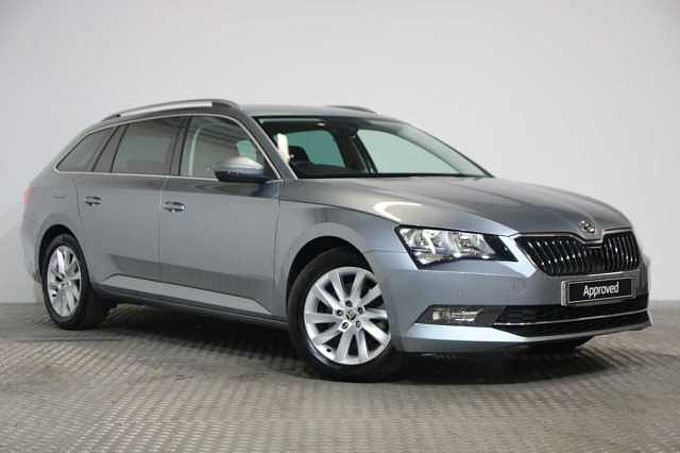 find a used grey Škoda superb estate se technology 1.4 tsi 150 ps 6g