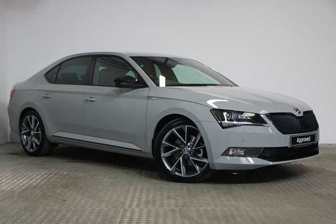 ŠKODA Superb SportLine Plus 2.0 TDI 190 PS DSG