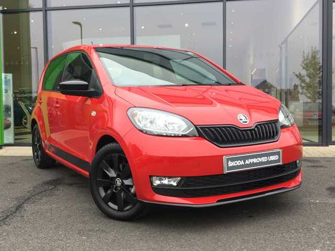 ŠKODA Citigo 1.0 (60ps) Monte Carlo GreenTech 5Dr Hatch