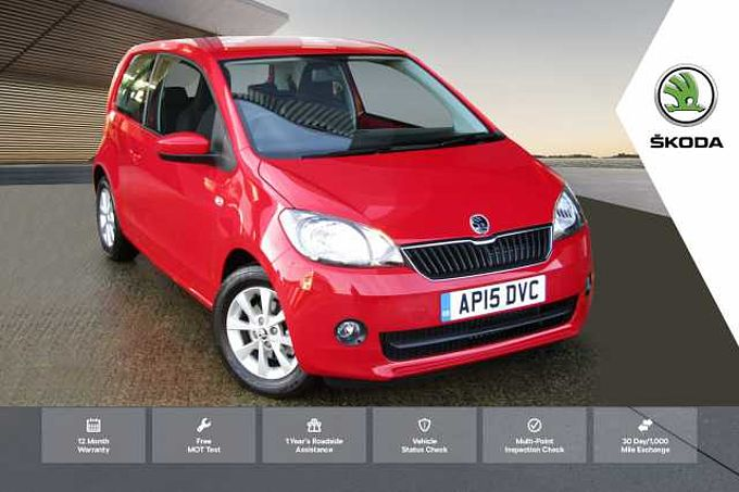 ŠKODA Citigo 1.0 MPI (60PS) SE L GreenTech Hatchback 3Dr