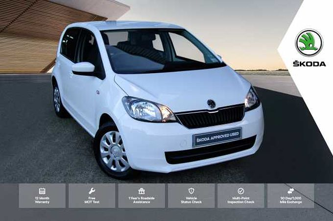 ŠKODA Citigo 1.0 MPI (60PS) SE Hatchback 5-Dr