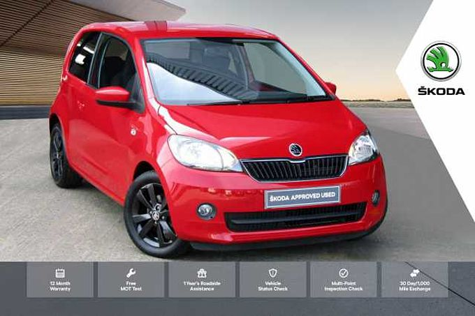 ŠKODA Citigo 1.0 MPI 60PS Black Edition Hatchback 3-Dr