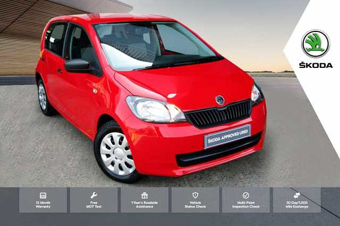 ŠKODA Citigo 1.0 MPI (60PS) S Hatchback 5-Dr