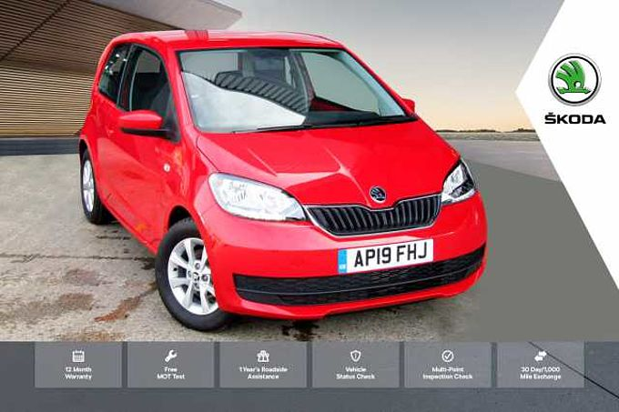 ŠKODA Citigo 1.0 MPI (60PS) SE Green Tech Hatchback 3-Dr