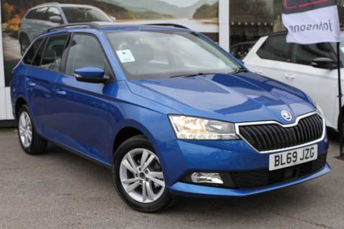 SKODA Fabia 1.0 TSI SE (110PS) S/S 5-Dr Estate