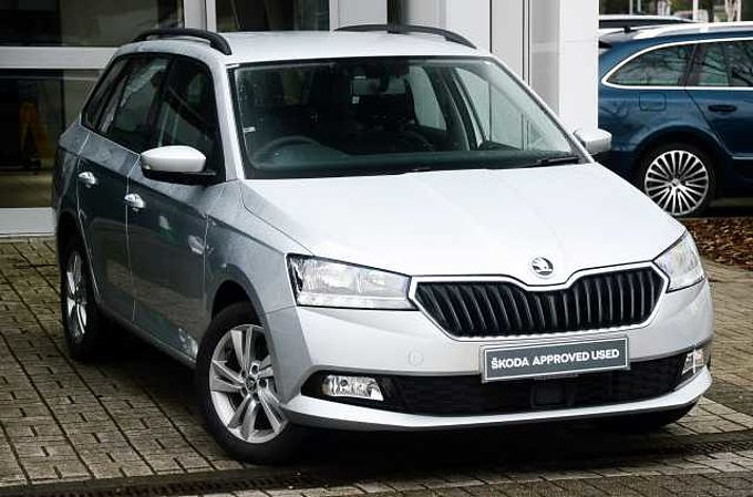 SKODA Fabia 1.0 MPI SE (75ps) (s/s) 5-Dr Estate